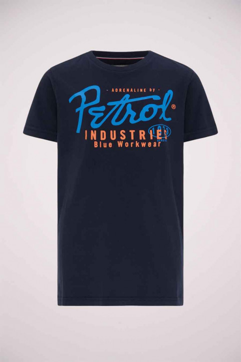 Petrol T-shirts manches courtes bleu B3000TSR602_5090 DEEP CAPRI img1