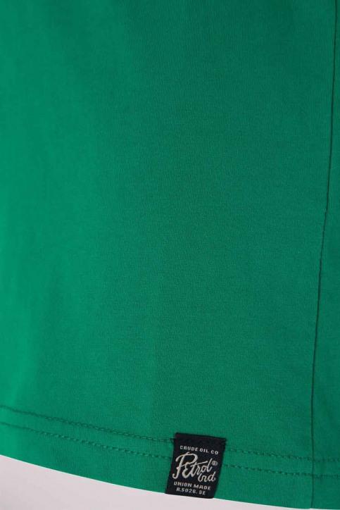 Petrol T-shirts manches longues vert B3000TSR604_6116 SHAMROCK img3