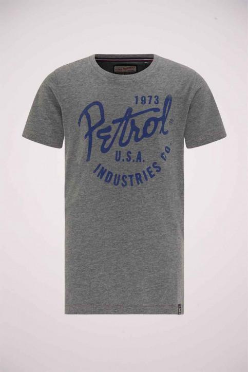 Petrol T-shirts manches longues gris B3000TSR604_9046 LGHT SLATE img1