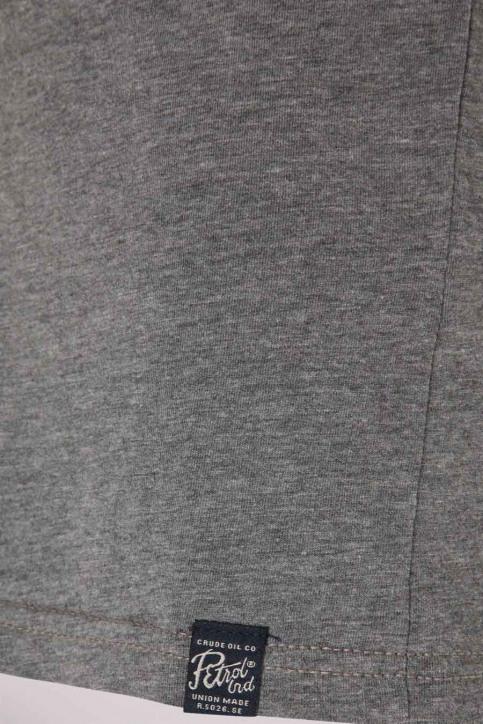 Petrol T-shirts manches longues gris B3000TSR604_9046 LGHT SLATE img3