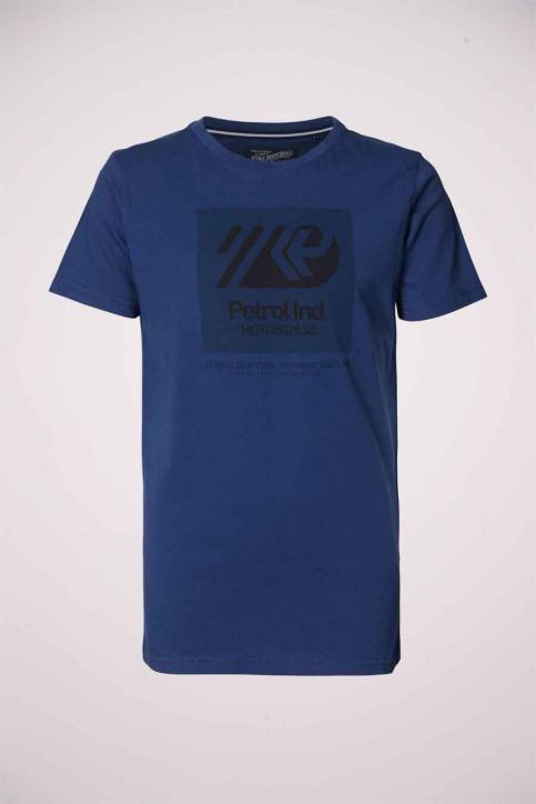 Petrol T-shirts manches courtes bleu B3000TSR655_5082 PETROL BLU img1