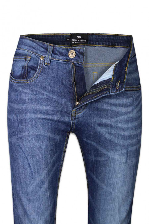 BRUCE & BUTLER Jeans special fit blauw BB BONANZA_BLUE WASH img6