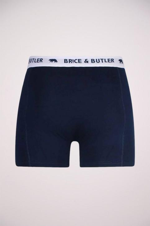 BRUCE & BUTLER Boxers blauw BB BOXER_NAVY img2