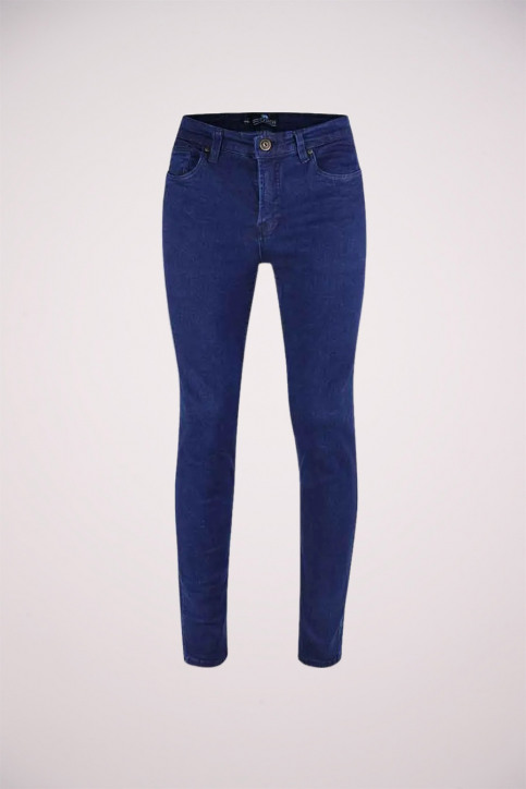 BRUCE & BUTLER Jeans slim denim BB BUCURESTI_DENIM BLUE img1