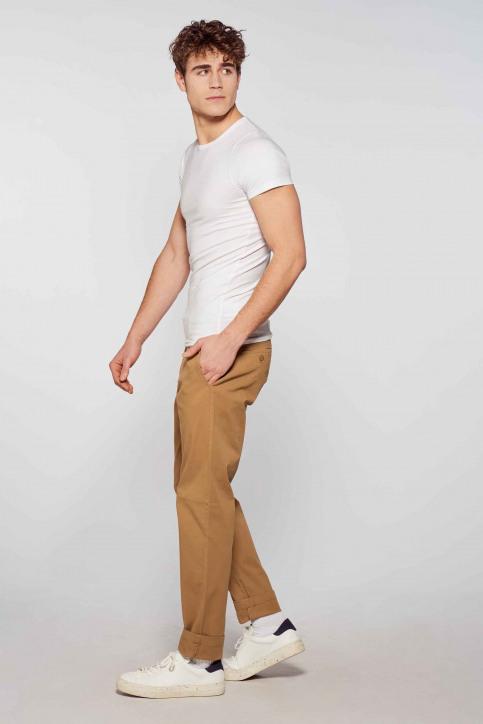 BRUCE & BUTLER T-shirts (korte mouwen) wit BB LENNART SS O 1P_WHITE img1