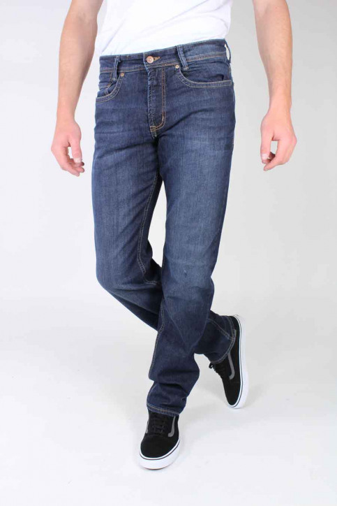 MAC Jeans straight bleu BEN_H741DARK VINTA img1