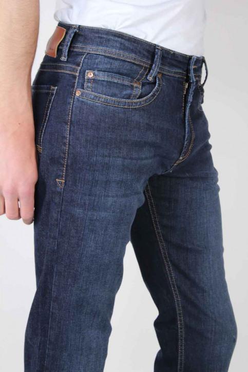 MAC Jeans straight bleu BEN_H741DARK VINTA img5
