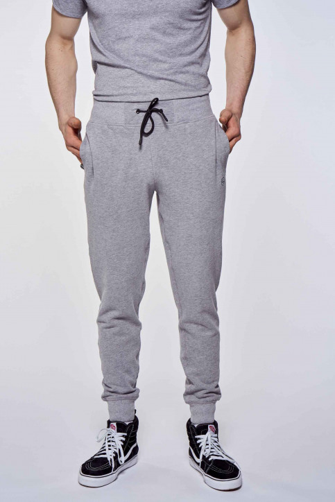BLACK AND GOLD Joggings grijs BGMJOG07_GREY MELANGE img1