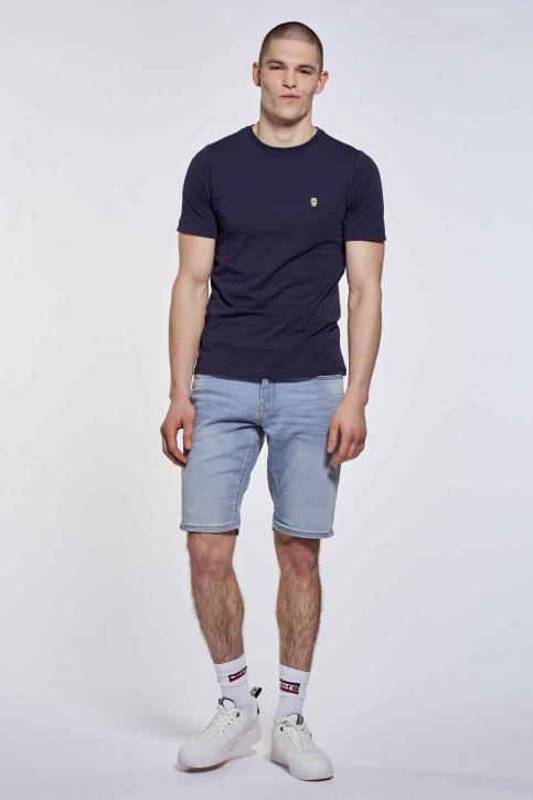 BLACK AND GOLD T-shirts (korte mouwen) blauw BGMTS109_NAVY img3