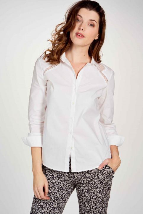 Ikks Hemden (lange mouwen) wit BR12095_01 BLANC img2