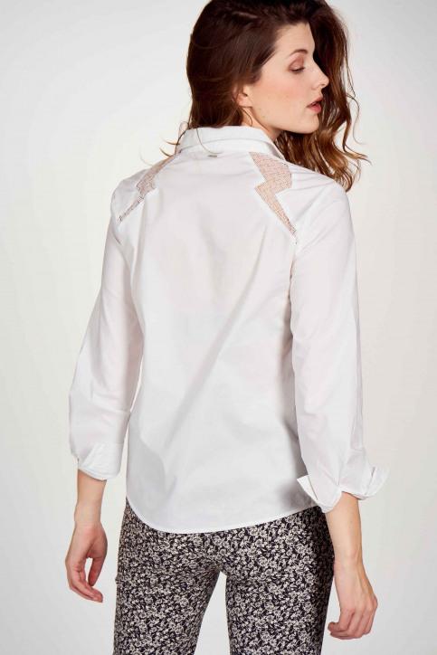 Ikks Hemden (lange mouwen) wit BR12095_01 BLANC img3