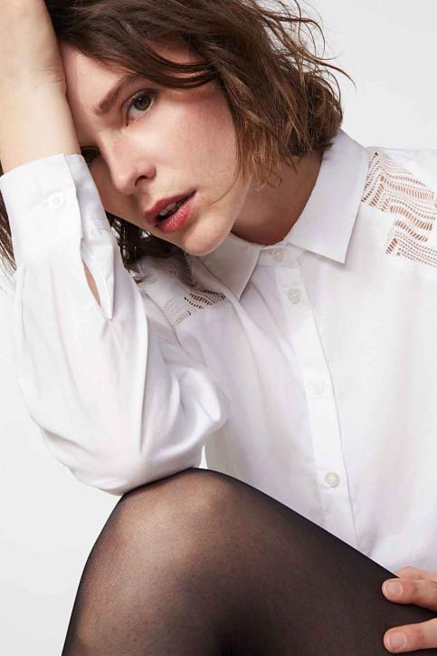 Ikks Hemden (lange mouwen) wit BR12095_01 BLANC img4