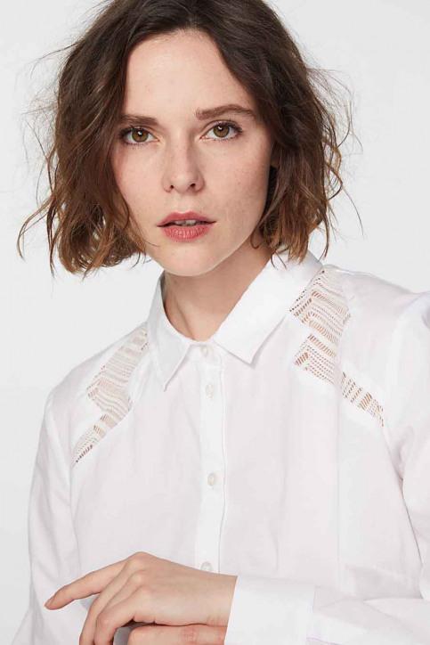 Ikks Hemden (lange mouwen) wit BR12095_01 BLANC img5