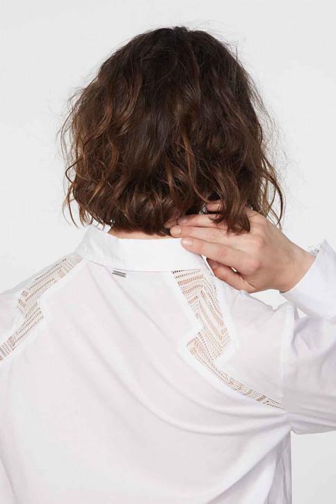 Ikks Hemden (lange mouwen) wit BR12095_01 BLANC img6