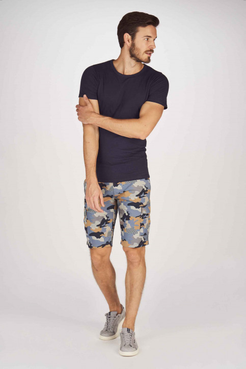 BRUCE & BUTLER Shorts multicolor BRB191MT 001_DARK SAND CAMEO img2