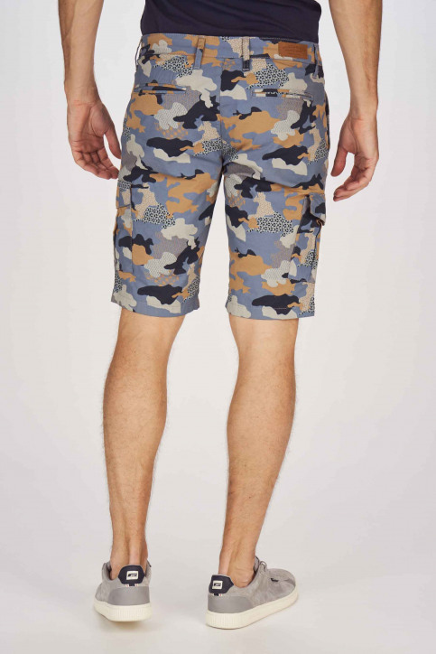 Bruce & Butler Shorts multicolor BRB191MT 001_DARK SAND CAMEO img3