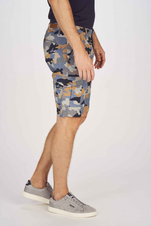 Bruce & Butler Shorts multicolor BRB191MT 001_DARK SAND CAMEO img6