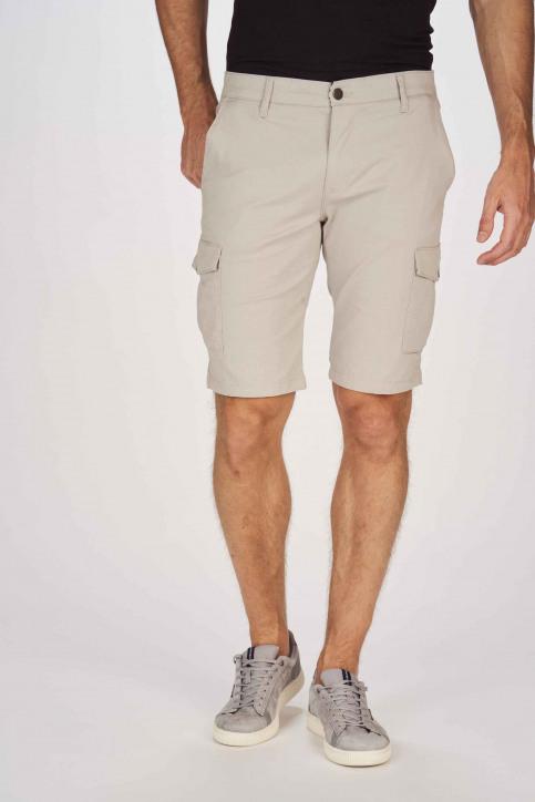 BRUCE & BUTLER Shorts grijs BRB191MT 003_GREY img1