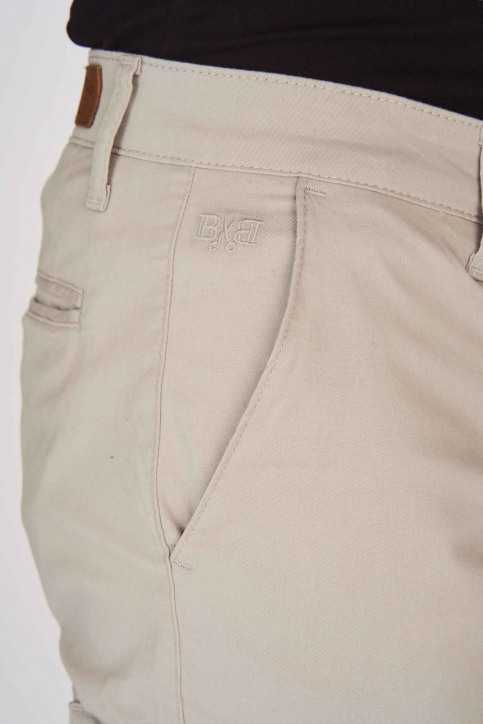 BRUCE & BUTLER Shorts grijs BRB191MT 003_GREY img4