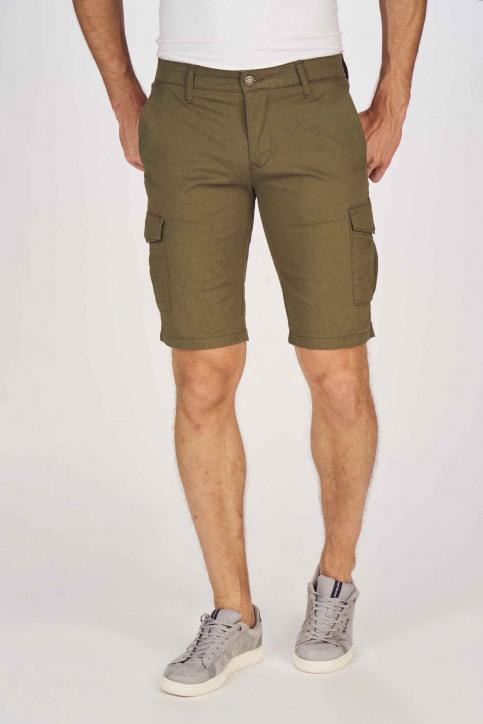 BRUCE & BUTLER Shorts beige BRB191MT 003_OLIVE img1