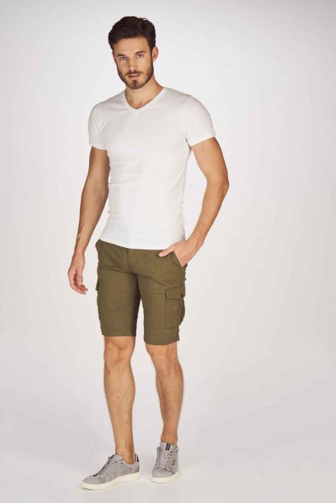 BRUCE & BUTLER Shorts beige BRB191MT 003_OLIVE img2