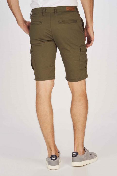 BRUCE & BUTLER Shorts beige BRB191MT 003_OLIVE img3