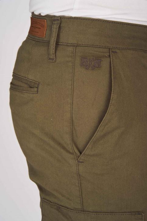 BRUCE & BUTLER Shorts beige BRB191MT 003_OLIVE img4