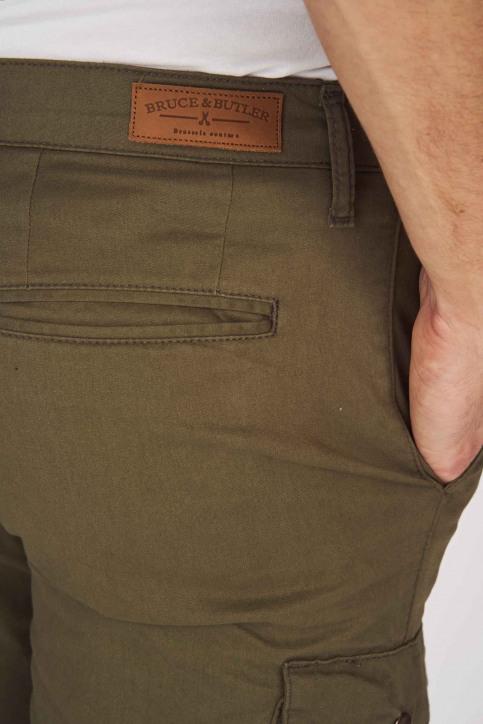 BRUCE & BUTLER Shorts beige BRB191MT 003_OLIVE img5