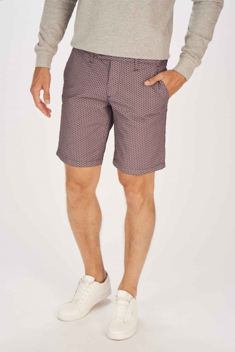 BRUCE & BUTLER Shorts blauw BRB191MT 004_SEA PRINT img1