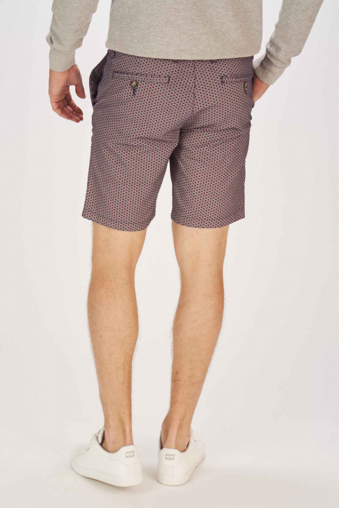 BRUCE & BUTLER Shorts blauw BRB191MT 004_SEA PRINT img3