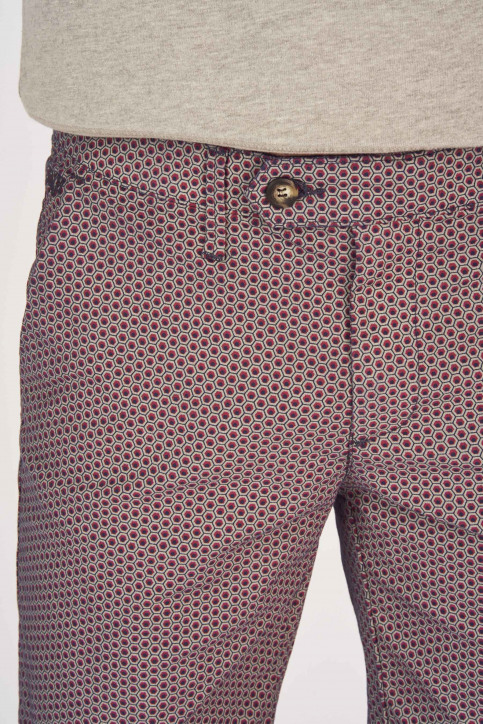 BRUCE & BUTLER Shorts blauw BRB191MT 004_SEA PRINT img4
