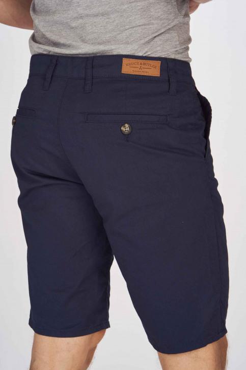 BRUCE & BUTLER Shorts blauw BRB191MT 005_NAVY img5