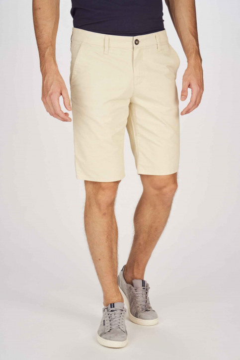 BRUCE & BUTLER Shorts beige BRB191MT 005_WHITE PEPPER img1