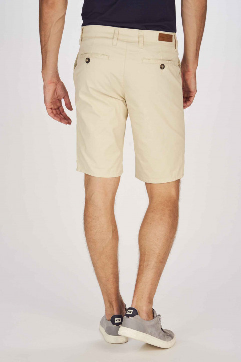 BRUCE & BUTLER Shorts beige BRB191MT 005_WHITE PEPPER img3