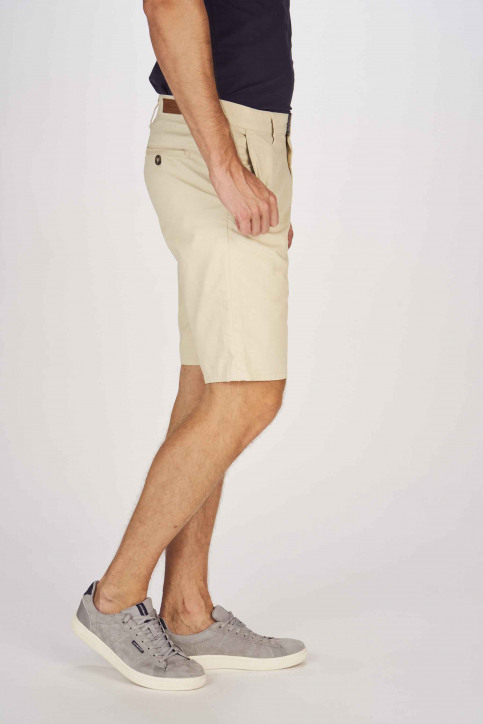 BRUCE & BUTLER Shorts beige BRB191MT 005_WHITE PEPPER img6