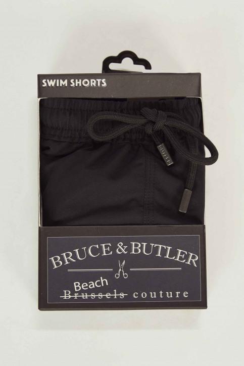BRUCE & BUTLER Slips de bain noir BRB191MT 007_BLACK img4
