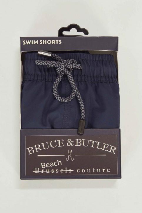 Bruce & Butler Slips de bain bleu BRB191MT 007_NAVY BLUE img4