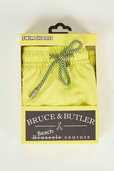 Bruce & Butler Zwembroeken geel BRB191MT 007_NEON YELLOW img4