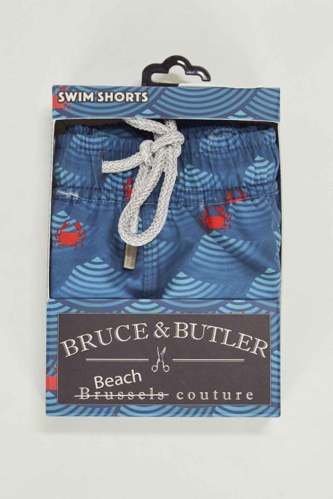 Bruce & Butler Zwembroeken rood BRB191MT 008_CRAB img4