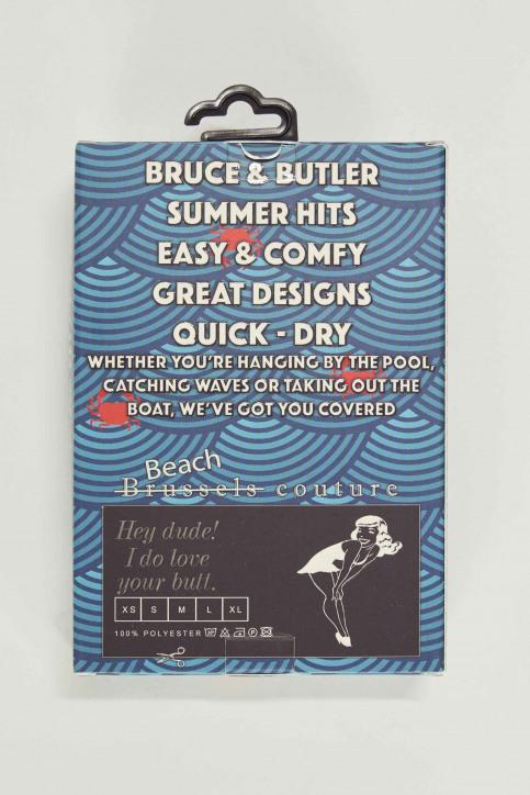 Bruce & Butler Zwembroeken rood BRB191MT 008_CRAB img5