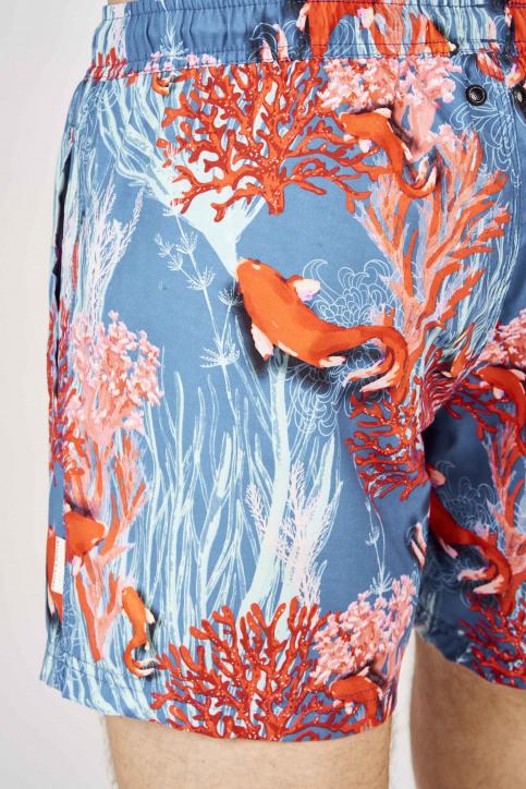 Bruce & Butler Slips de bain multicoloré BRB191MT 008_FISH img3