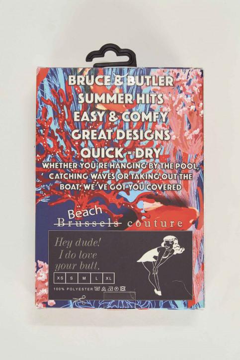 Bruce & Butler Slips de bain multicoloré BRB191MT 008_FISH img5