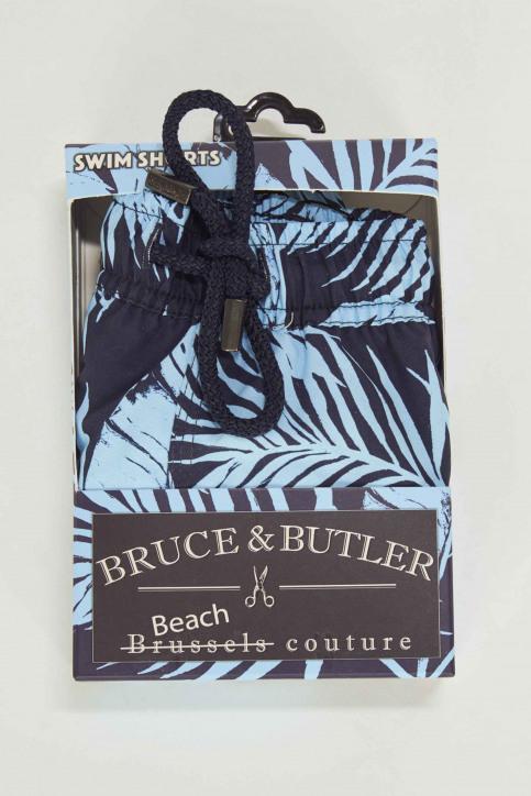 Bruce & Butler Zwembroeken blauw BRB191MT 008_PALM img4