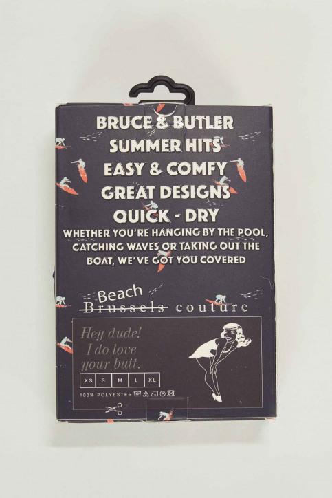 Bruce & Butler Slips de bain multicoloré BRB191MT 008_SURFER img5