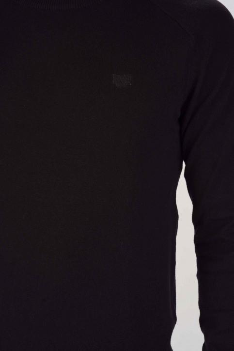 BRUCE & BUTLER Truien met ronde hals zwart BRB193MT 001_BLACK img5