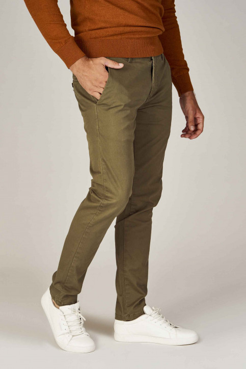 BRUCE & BUTLER Chinos vert BRB194MT001_OLIVE img1