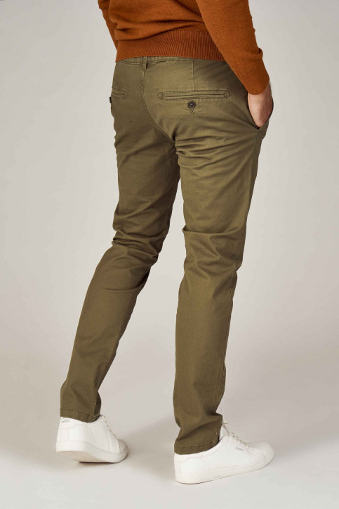 BRUCE & BUTLER Chinos vert BRB194MT001_OLIVE img3
