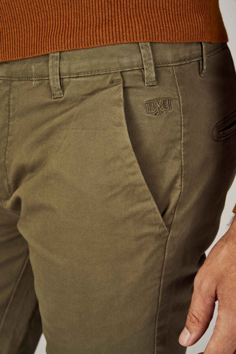 BRUCE & BUTLER Chinos vert BRB194MT001_OLIVE img4