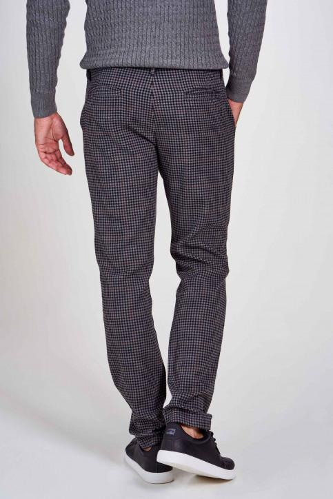 BRUCE & BUTLER Kostuumbroeken grijs BRB196MT 001_GREY CHECK img2