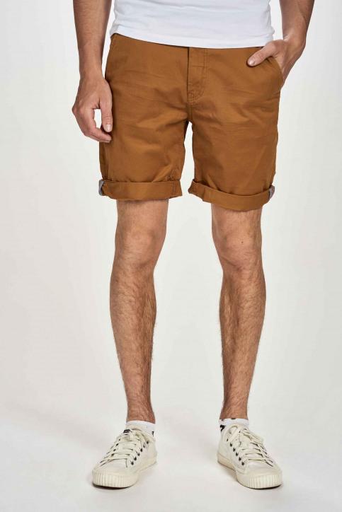 BRUCE & BUTLER Shorts bruin BRB201MT 018_RUBBER img1